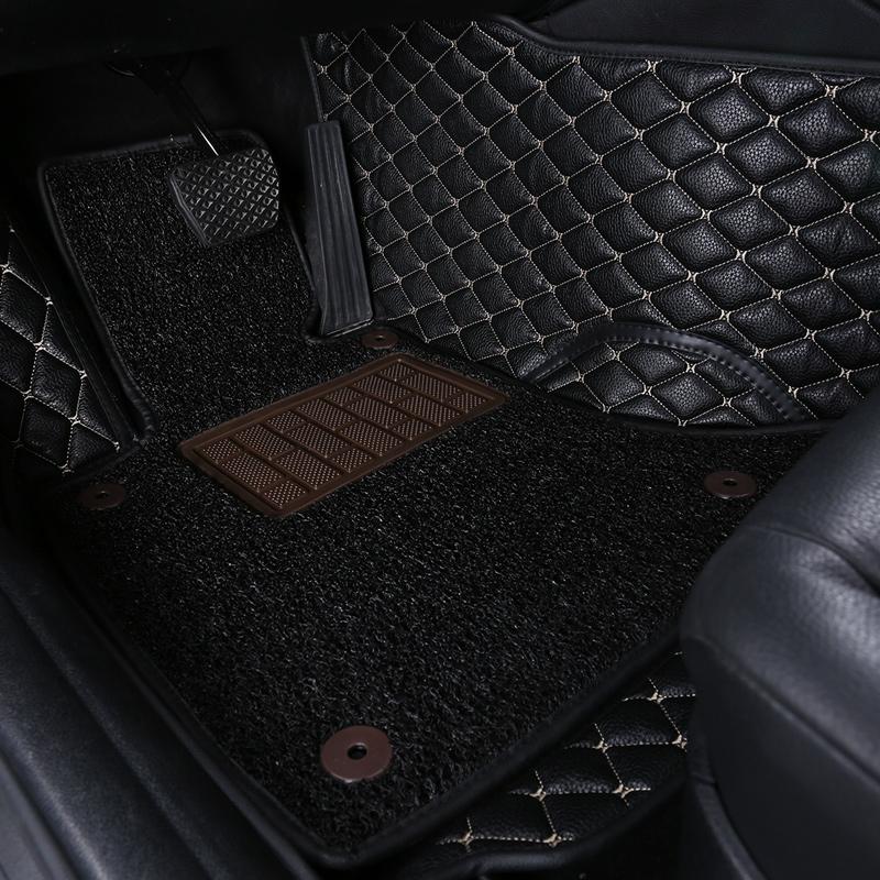 Durable 3 Pieces Car Mats 5d Flooring Car Accessory